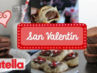 Postres para San Valentín de Nutella! | PARTE 2