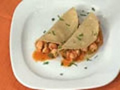 Tacos de Camarón. Receta de Cocina