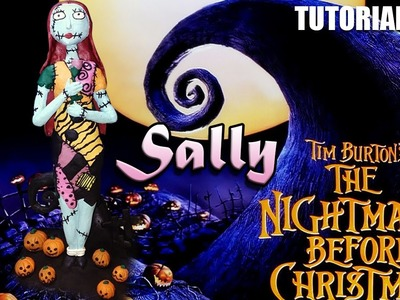 Tutorial Sally (The Nightmare Before Christmas) de Plastilina