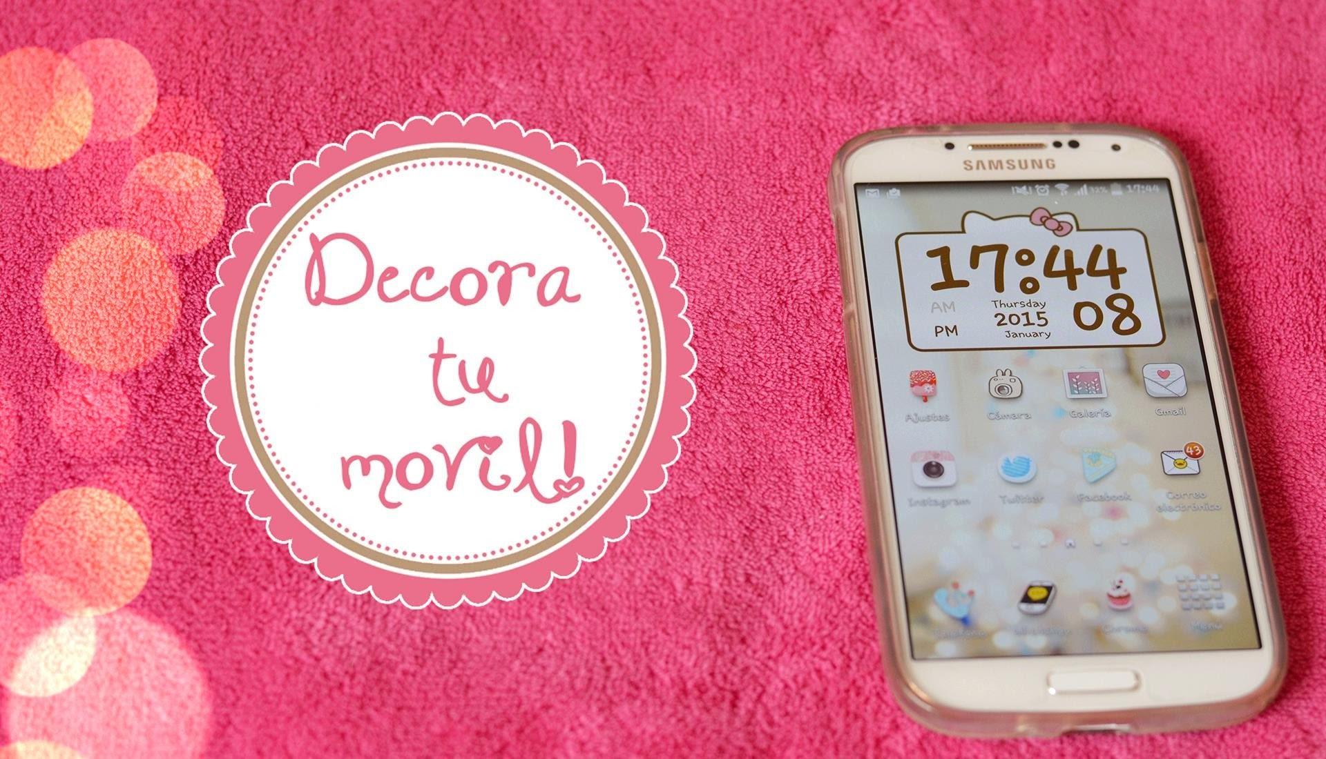 Aplicaciones para decorar tu móvil ♥ Ronro Love