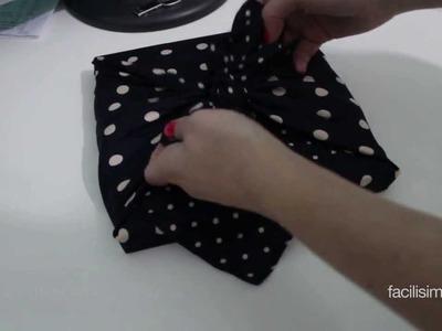 Cómo envolver una caja con un pañuelo | facilisimo.com