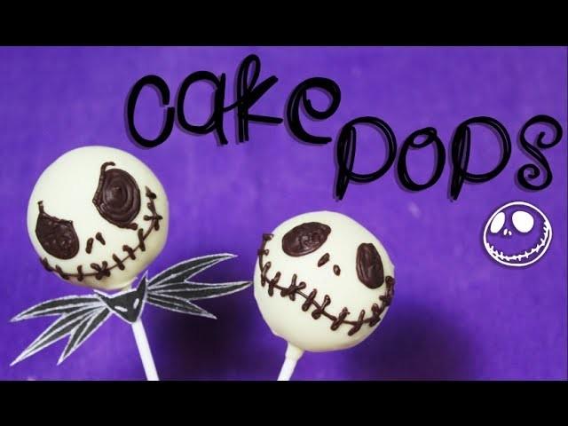 ➾ Como Hacer Cake Pops ✝ SIN BETUN ! de Jack skellington ☠ - Miranda Ibañez