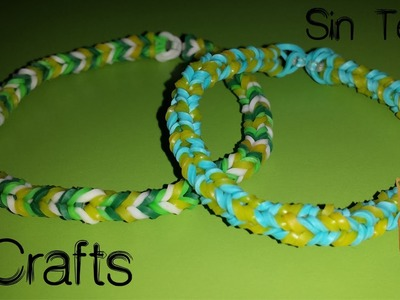 COMO HACER PULSERA NANO FISHTAIL O MINI FISHTAIL DE GOMITAS SIN TELAR MANUALIDADES DIY NEW