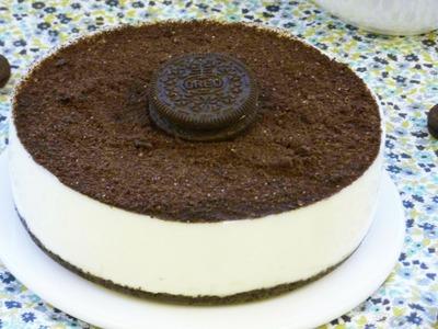 Cómo hacer Tarta Cheesecake de Oreo (Receta sin Horno) | LHCY