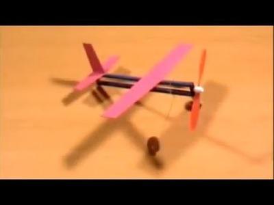 Como hacer un avión poderoso