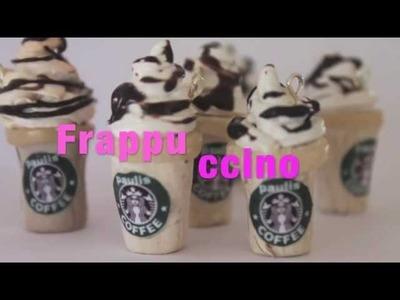 Como Hacer Un Frappuccino En Arcilla Polimerica FACIL Y RAPIDO
