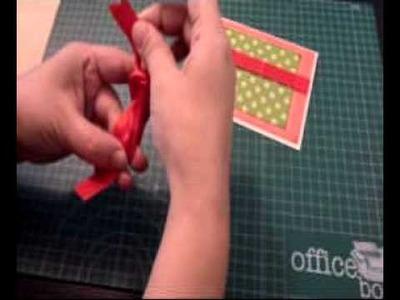 Como hacer un lazo sencillo
