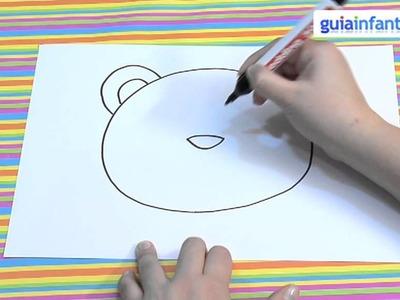 Cómo hacer una máscara de oso para niños