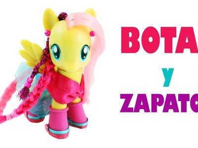 Cómo hacer zapatos y botas para tus My Little Ponys - Manualidades para muñecas