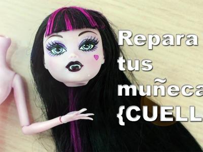 Cómo restaurar o reparar la [CABEZA y CUELLO] articulaciones de tus muñecas Barbie, MH y EAH