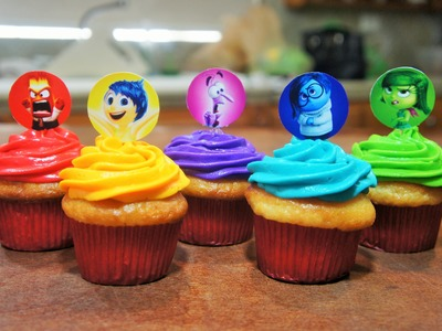 CUPCAKES DE INTENSAMENTE (INSIDE OUT) - BAKING DAY