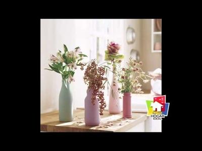 Decoración con frascos de vidrio - Tu Hogar Ideal