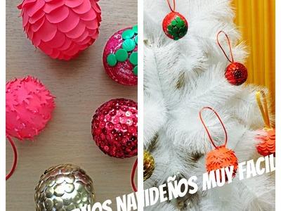 DIY - Adornos Navideños muy fácil - malir15