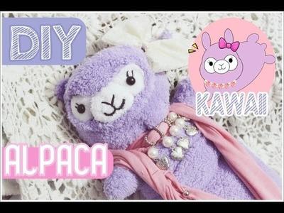 DIY: ALPACA. KAWAII PLUSH ♥