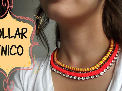 DIY- Collar etnico muy fácil