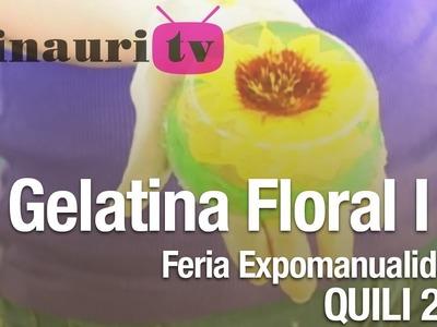 DIY - Girasol Gelatina Artística ( Sunflower artistic gelatin )