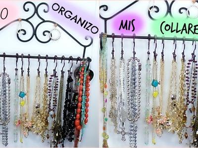 DIY  | Organizador de Collares