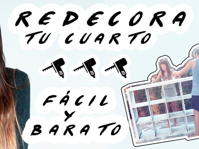 DIY: Redecora tu cuarto FÁCIL || Around The Corner