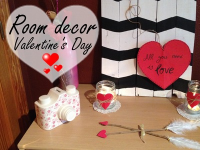 Diy| ♡ Room Decor Valentine's day ♡ ( yoyomelody)