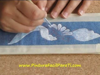 Pintar Manteles 1 - Pintura Facil Para Ti.wmv