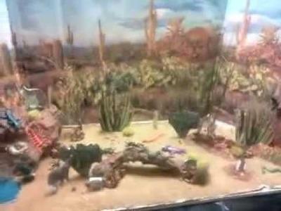 Proyecto diorama del desierto