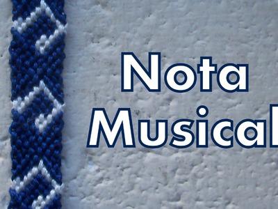 Pulsera de Hilo: Nota Musical