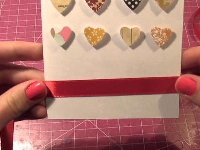 Tarjeta San Valentín. Sencilla + bonita + rápida