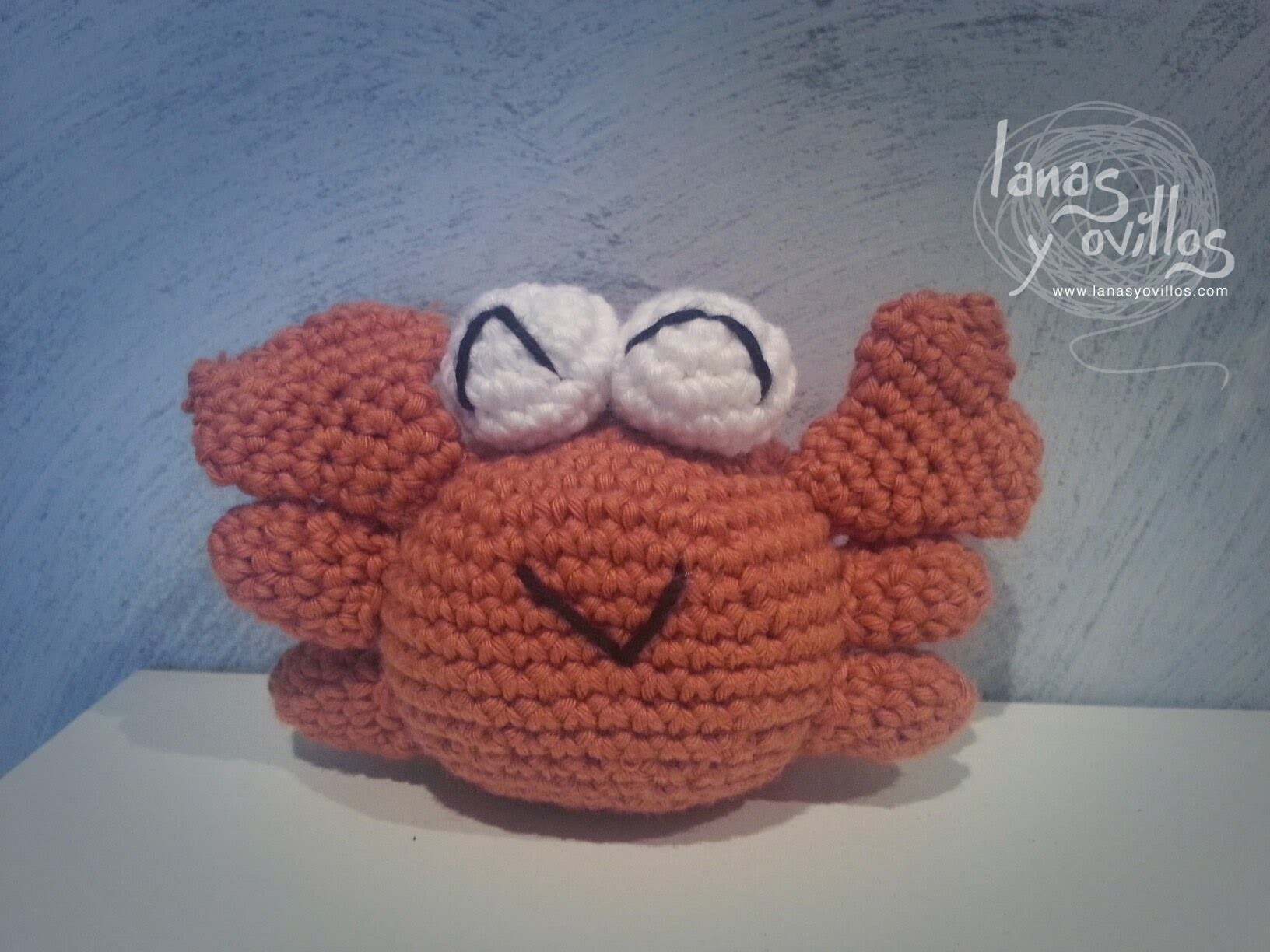 Tutorial Cangrejo Amigurumi Crab (English subtitles)