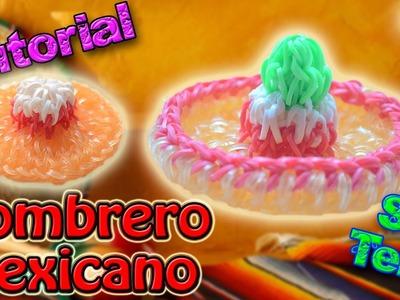♥ Tutorial: Sombrero Charro o Mexicano de gomitas en 3D (sin telar) ♥