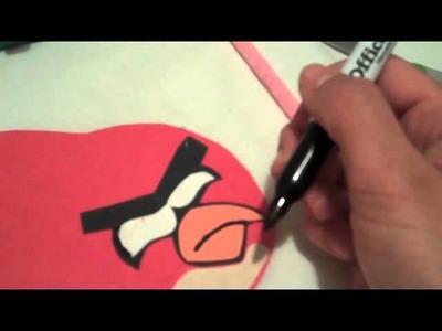 """Angry Birds """"Como hacer Tarjetas"""""""