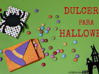 Cómo hacer Dulceros para Halloween y el Día de los Muertos, Manualidades para halloween
