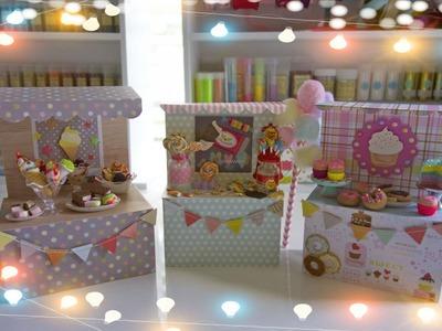 Cómo hacer un mini puesto de dulces