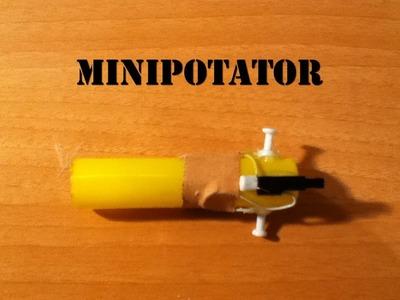 Como hacer un minipotator casero. Experimento muy fácil