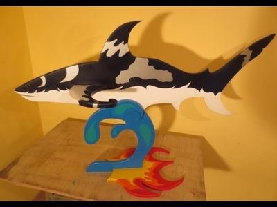 Como Hacer Un Tiburon Facil