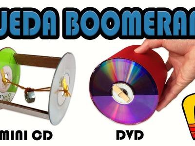 Como Hacer una Rueda Boomerang (Manualidades Fáciles)
