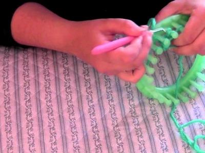 Cómo tejer un triangulo en un telar redondo
