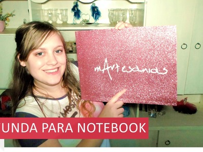 DIY - ¡FUNDA PARA NOTEBOOK!  SUPER FACIL Y SIN COSER :) @yanibrilz