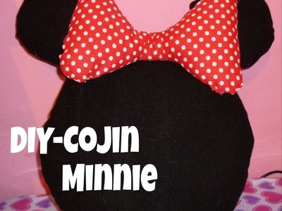 DIY - Cojin  de Minnie