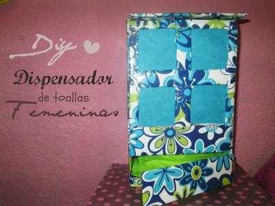 ►DIY: Dispensador de toallitas femeninas LINDO & DISCRETO♥(: