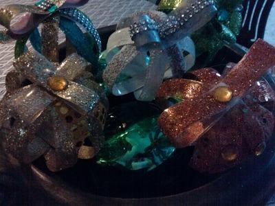 DIY:Esferas de navidad hechas de botella de plastico. Christmas Ornaments from plastic bottles -