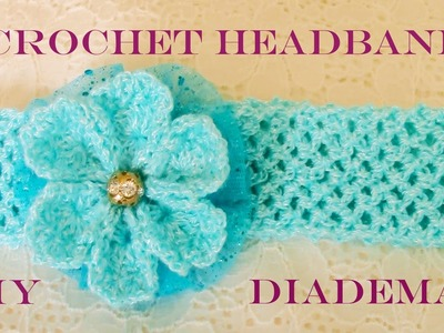 DIY flores y diademas hermosas  - flowers and beautiful headbands