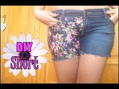 Diy | Short con flores
