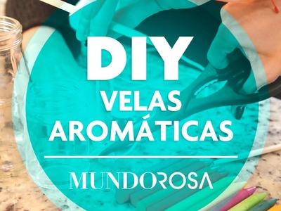 DIY Velas aromáticas