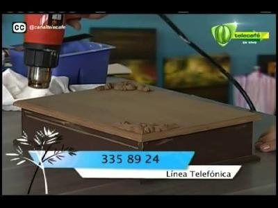Espazio Ideal Técnica de sublimación 1 de diciembre 2014 Telecafé