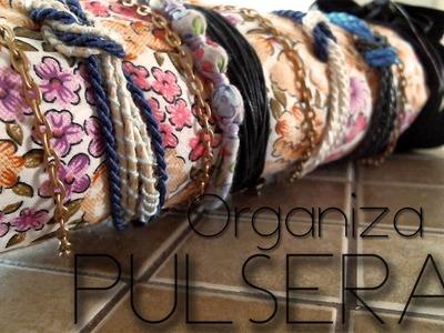 Organizador para pulseras 10 de Mayo .colaboración con Dackita ♥