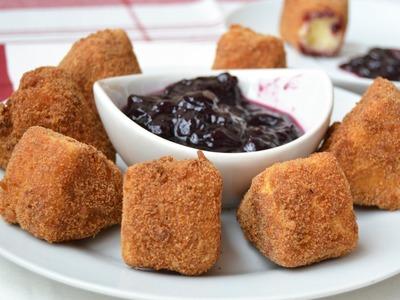 Queso Frito | Recetas de aperitivos fáciles y rápidos