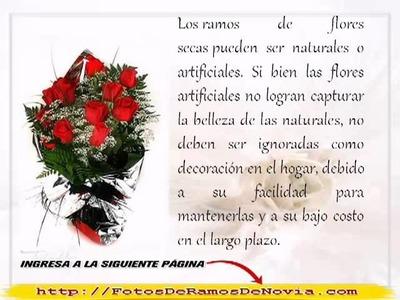 Ramos de Flores de Cumpleaños [Ideas para Ramos de Novia]