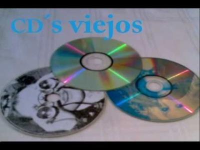 Spa de Objetos - Convirtiendo CD's rayados en un Original Reloj!