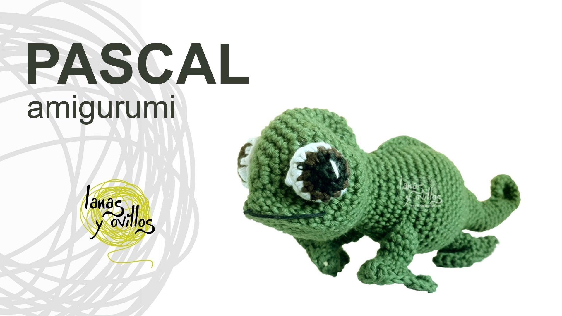 Tutorial Camaleón Amigurumi Chameleon (english subtitles)