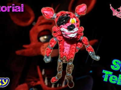 ♥ Tutorial: Foxy de gomitas de Five Nights at Freddy's (sin telar) ♥